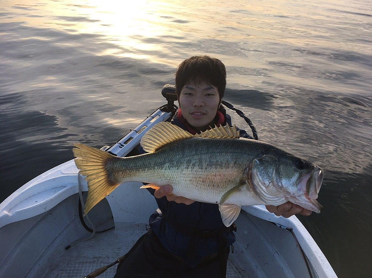 2018年11月21日琵琶湖釣行in山ノ下湾