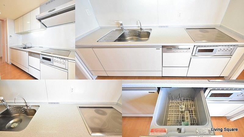 IH3口コンロ・食器洗浄乾燥機付