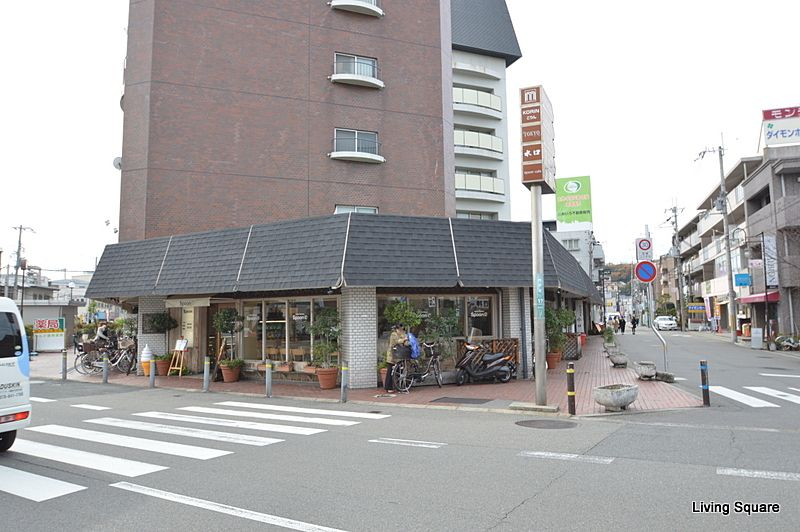 最寄のカフェです。